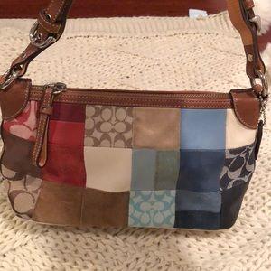 Patchwork Coach bag